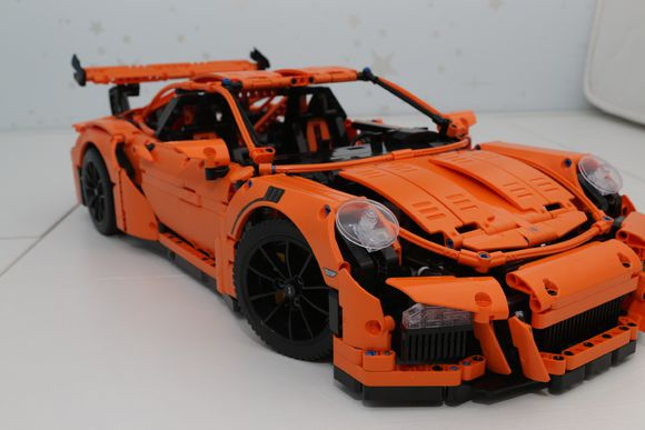 review of lepin 20001 porsche 911 gt3 rs bootleg of lego. Black Bedroom Furniture Sets. Home Design Ideas