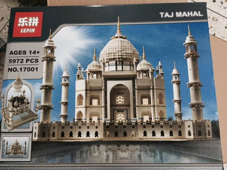 Review Of Lepin 17001 Taj Mahal Bootleg Of Lego 10189 Customize