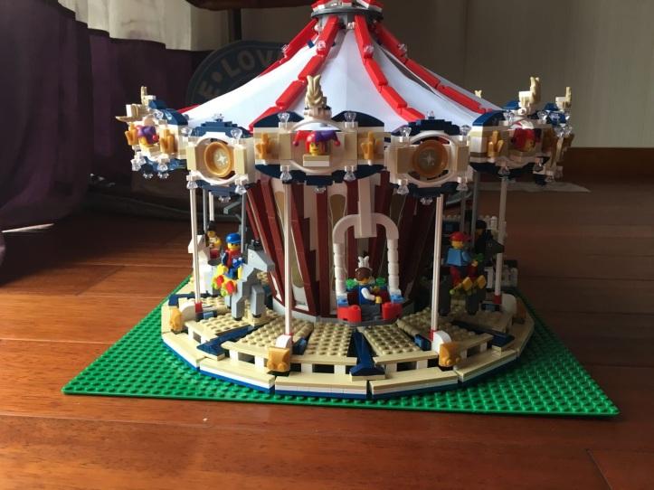 Lepin 15013 Grand Carousel Fake of Lego 10196