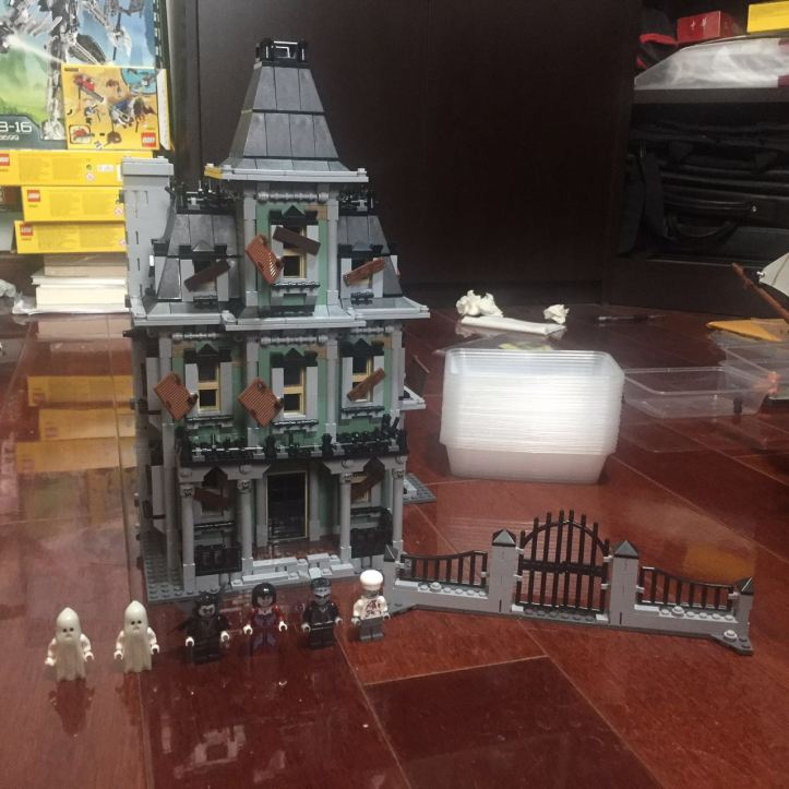 Lepin 16007 Haunted House Complete