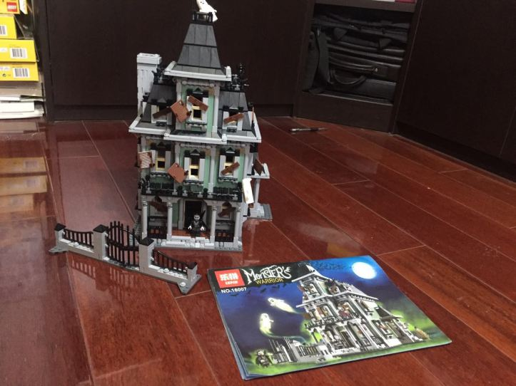 Lepin 16007 Haunted House