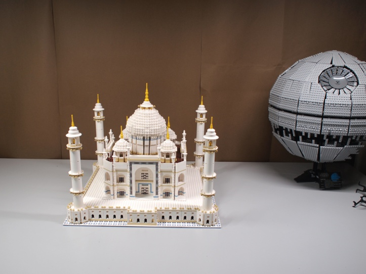 Review Of Lepin 17001 Taj Mahal Bootleg Of Lego 10189 Customize