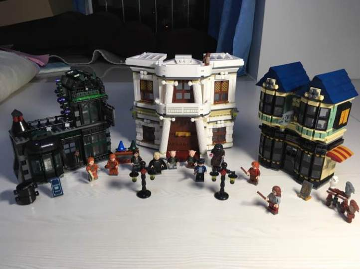 Lepin 16012 Diagon Alley Lego 10217