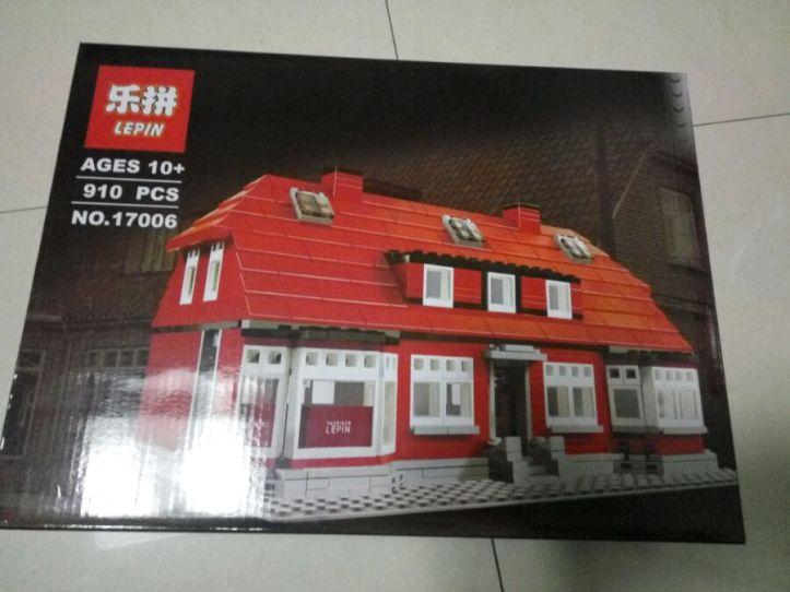 Lepin 17006 Ole Kirk's House Bootleg of Lego 4000007