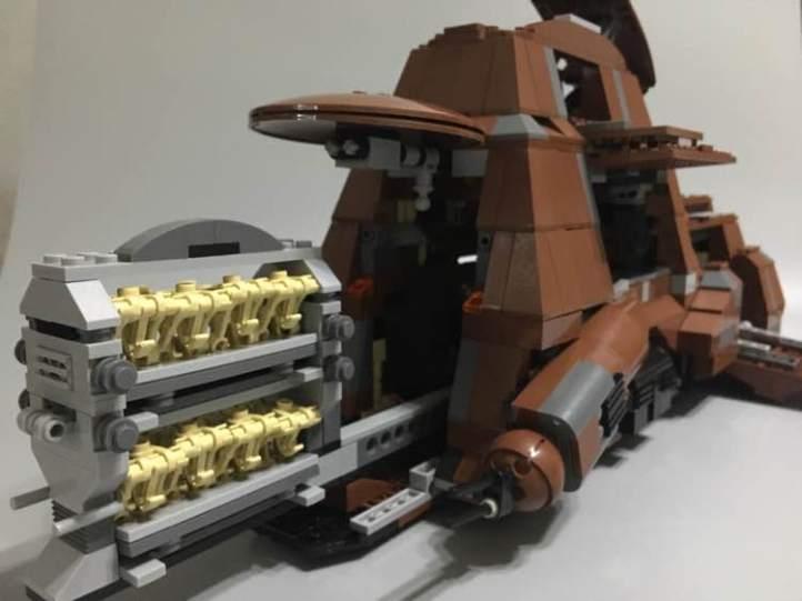 Review of Lepin 05069 Star Wars Trade Federation MTT Bootleg
