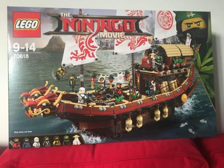 Lego 70618 Destiny's Bounty Ninjago Movie