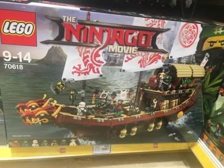 Lego 70618 Destiny Bounty
