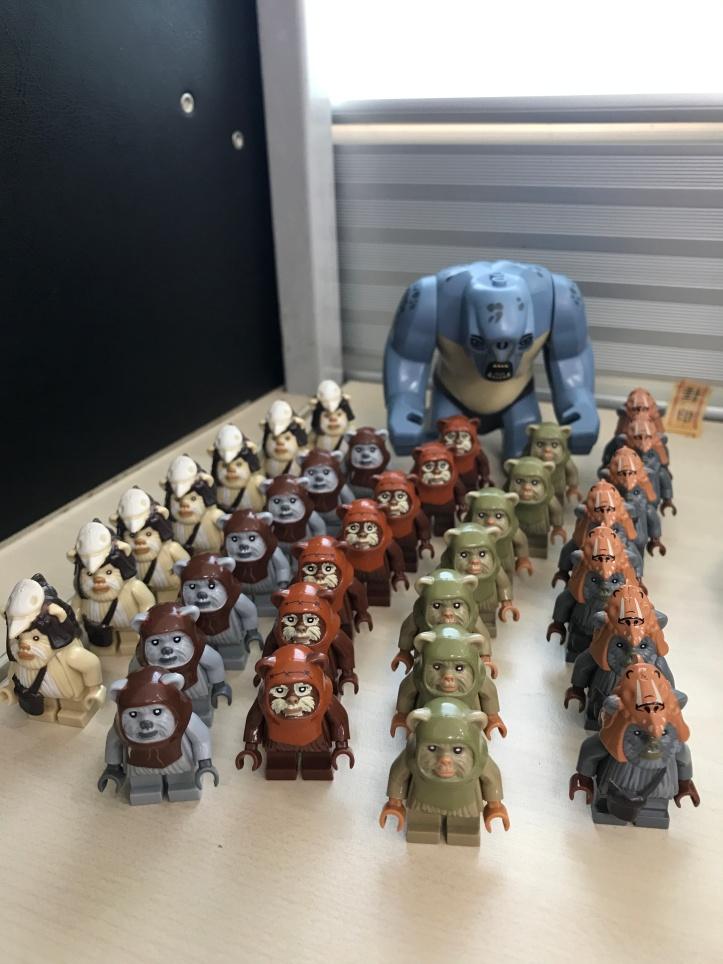 Koruit Ewoks Minifigures