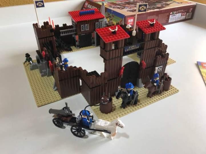 Lepin 33001 Fort Legoredo Lego 6762 6769