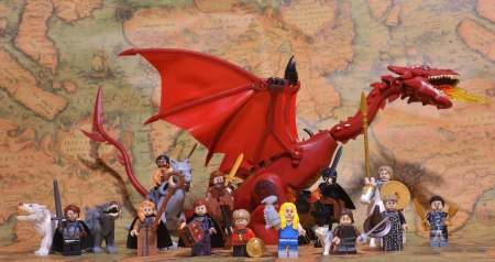 Pogo Game of Thrones minifigures