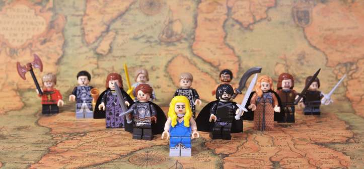 Pogo Game of Thrones minifigure