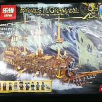 Lepin 16016 The Flying Dutchman Pirate Ship Review