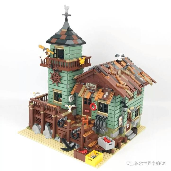 Lepin 16050 Old Fishing Store (Lego 21310)