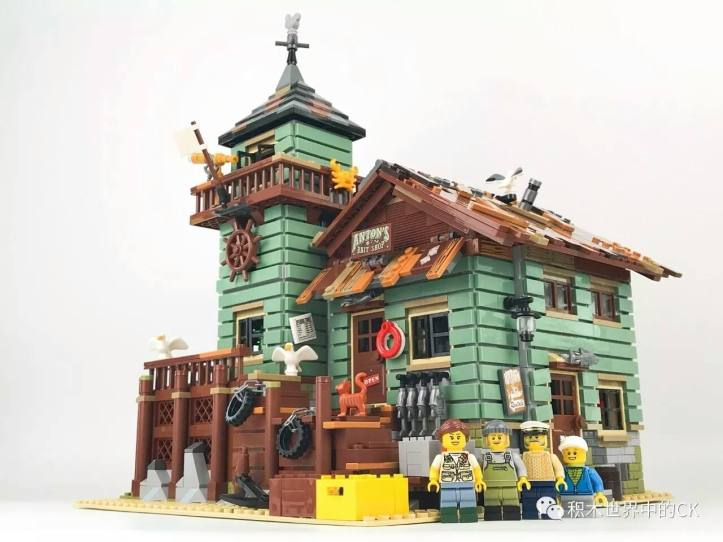 Lepin 16050 Old Fishing Store Front (Lego 21310)