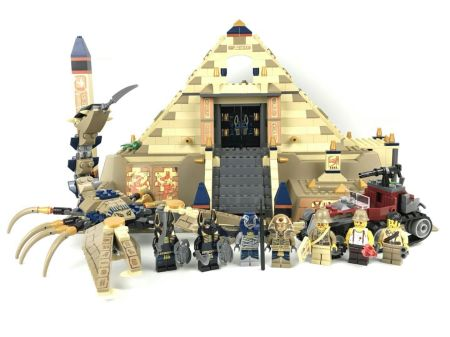 Lepin 31001 Scorpion Pyramid Fake of Lego 7327 Pharaoh's Quest