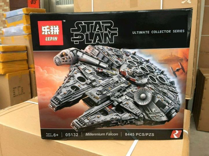 Review Of Lepin 05132 Ucs Millennium Falcon Fake Of Lego 75192