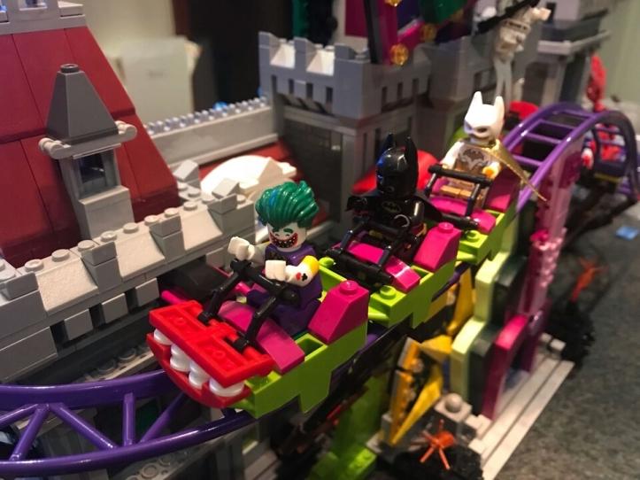 Lepin the Joker Manor roller coaster