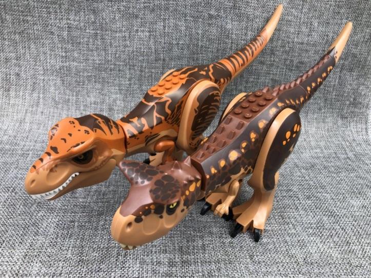LEGO T-Rex Carnotaurus