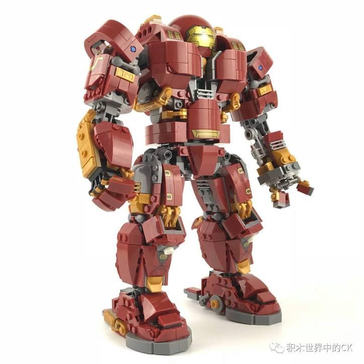 SY1041 UCS Hulkbuster clone of LEGO 76105