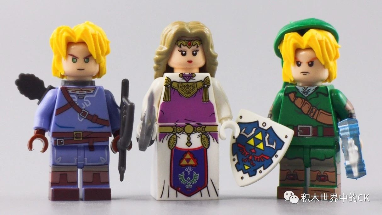 Link Minifigures Princess Zelda Lego MOC
