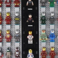 Review of SY1361 Iron Man Book with MK1-85 Minifigures
