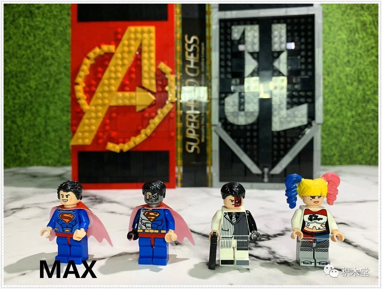 Spiderman Marvel Minifigure Stand Home Comming Venom Avengers Justice League