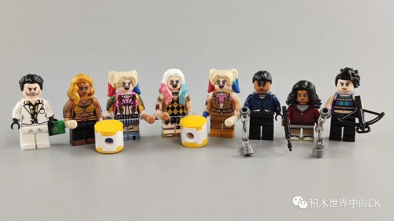 Reviews Of Kopf Kf6113 Unofficial Lego Minifigures Of Harley Quinn Birds Of Prey Customize Minifigures Intelligence