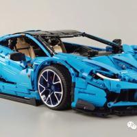 Preliminary Reviews on CADA C61041 Lamborghini Centenario MOC 39933 of T-LEGO