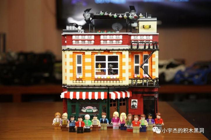 UrGe 10189 Central Perk Big Bang Theory Modular LEGO 21302 21319