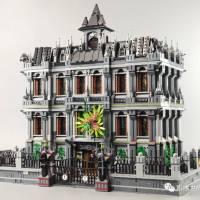 Reviews of Panlos 613002 Lunatic Hospital MOC of YellowBox LEGO Arkham Asylum