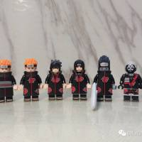 Non LEGO Naruto Anime Minifigures Comparison Reviews KORUIT KDL801 vs KOPF KF6119