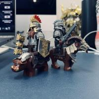 Reviews on XINH 1535-1536 Non LEGO Dain's Boar & Dwarf Mountain Goat of The Battle of Five Armies