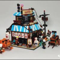 Reviews on Super 18K K99 Naruto Ichiraku Ramen Shop Unauthorized LEGO IDEAS Clone