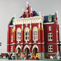 Reviews of Jie Star 89123 Red Brick University Unauthorized Brickative MOC The University