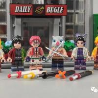 Reviews of WM Brand WM6116 Non-LEGO Demon Slayer: Kimetsu No Yaiba Minifigures