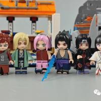 Reviews on Keeppley K20505-K20508 Licensed Naruto Anime Scenes Small Sets