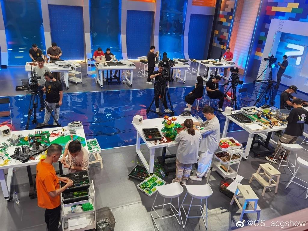 LEGO Masters China show in recording